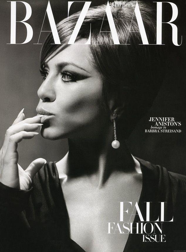Harper's Bazaar, September 2010 from Jennifer Aniston's Best Magazine Covers | E! Online