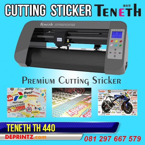 Mesin Cutting Sticker TENETH merupakan Produk Mesin Cutting Sticker yang sedang naik daun dan banyak dicari orang. Mesin Cutting Sticker TENETH TH 440 memiliki Lebar Area Kerja 44 cm, sehingga cocok untuk Pengerjaan Cutting Sticker ukuran kecil hingga area A3.  Harga PROMO : Rp. 4.550.000,-