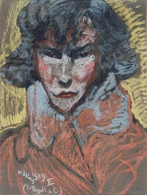 obraz Portret Haliny Bylczyńskiej - Stanisław Ignacy Witkiewicz Witkacy - Wally