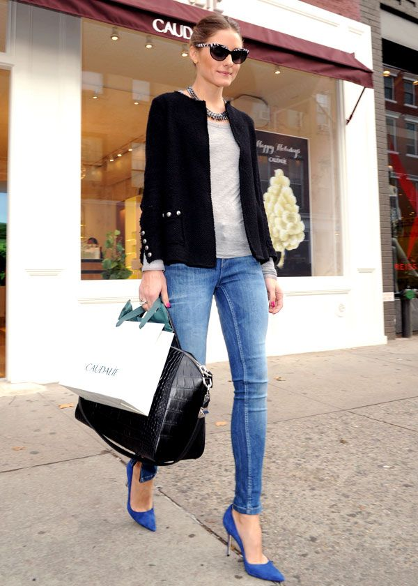 On copie son look: le style simple et chic d'Olivia Palermo