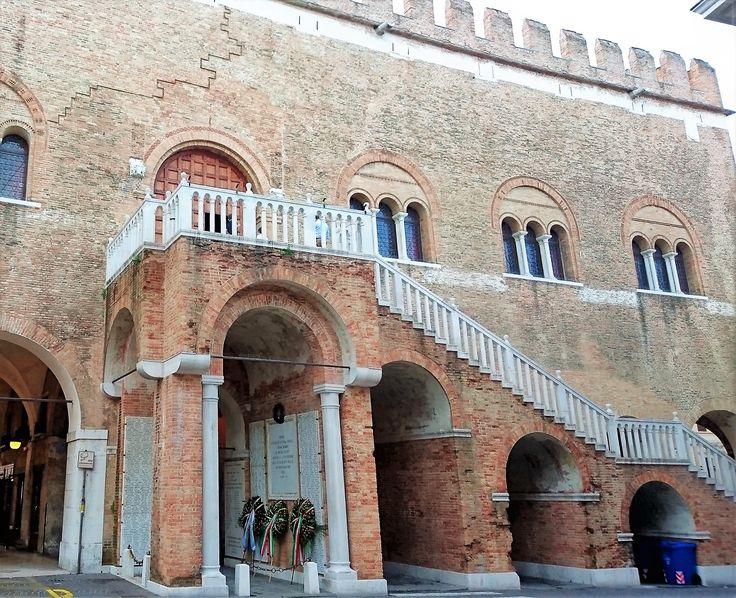 Palace of the three hundred - Palace Trescento - Treviso, Italy.