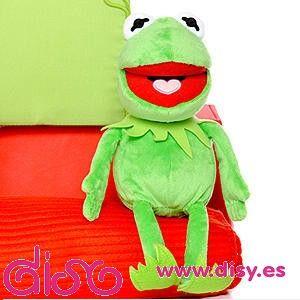 Peluches Los Teleñecos - La rana Gustavo - The muppets Kirmit- 25cm - 19,95€