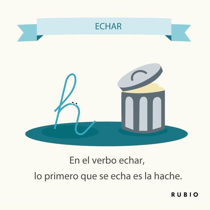 verbo echar