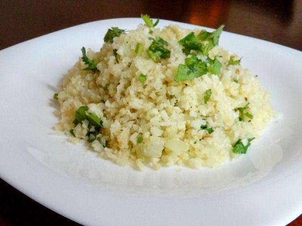 Arroz de coliflor al limón, el arroz que no es arroz.