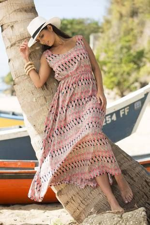 Tamarind Cover-Up Maxi Dress