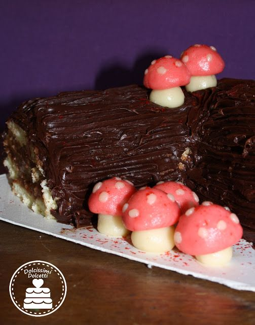 Tronchetto Natalizio - christmas roll cake