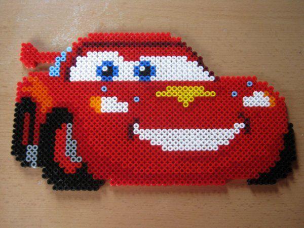 Cars Pixar hama beads by perleshama30