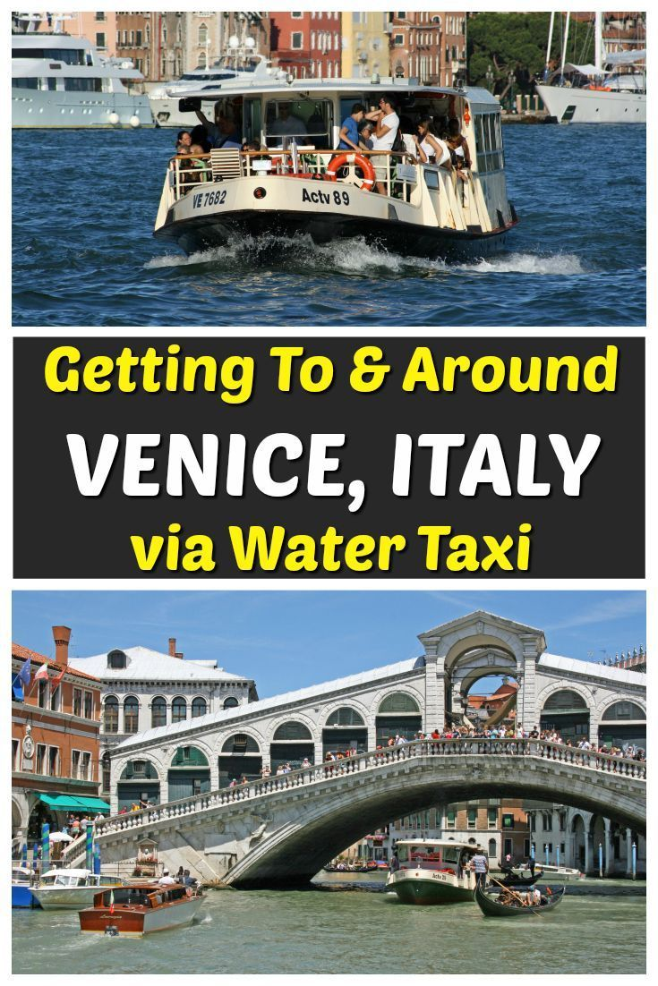 Venice Water Taxi From Marco Polo Airport To Venice And Around The City Venice Travel Venice In A Day Italy Travel
