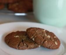 Thermomix Cacao Anzac biscuits