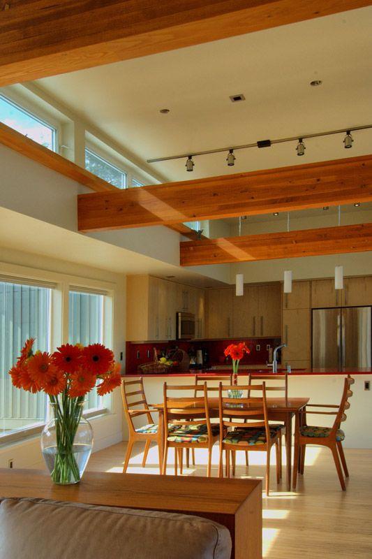 High Ceilings Add A Feel Of Spaciousness To This Dramatic Stillwater  Dwellings Custom Prefab Home Near Santa Barbara, California.