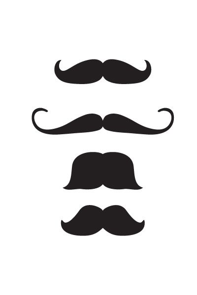 Hipster Moustache Vector Pack #moustache #hipster http://www.vectorvice.com/hipster-moustache-vector-pack