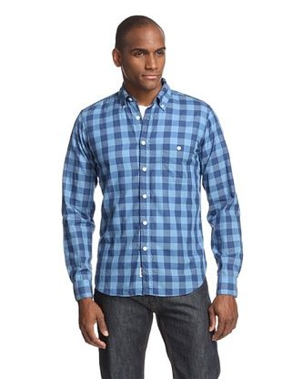 Todd Snyder Men's Two-Tone Check Shirt