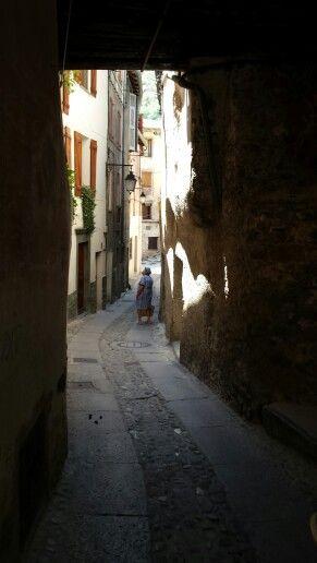 Città di Tende, parte vecchia, via.