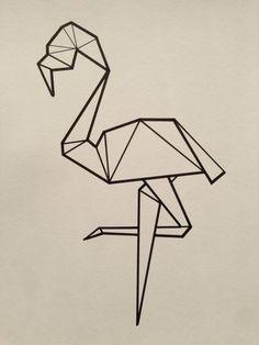 flamingo washi mural tape - Google Search