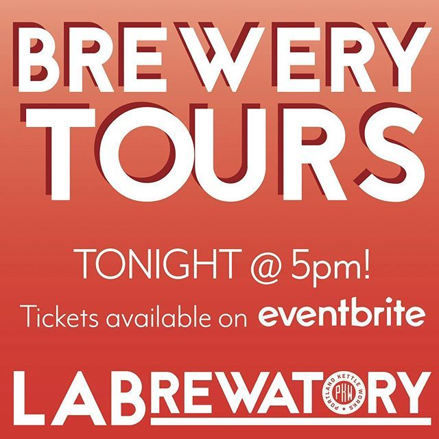 Tonight Grab A Ticket On Eventbrite For A Brewery Tour At 5pm