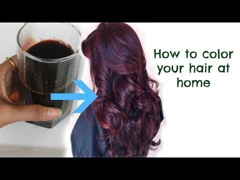 How to colour Hair Naturally at Home / All Natural Hair Dye / Top 3 Ways - YouTube