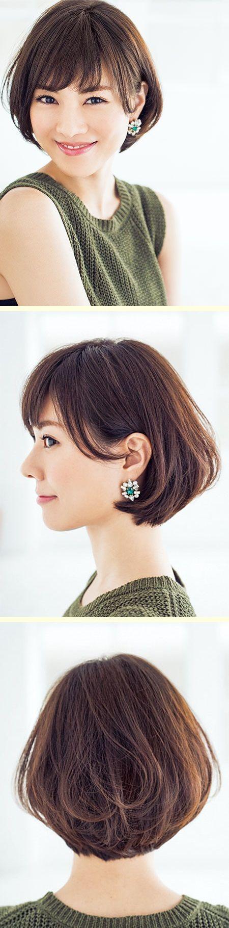 なめらかショートは前髪が決め手! #AneCan #安座間美優 #Model #ショートヘア #ヘアスタイル
