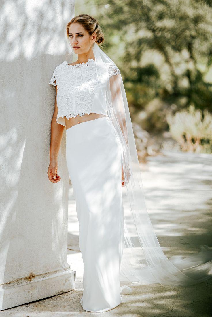 22 robes de mariée deux pièces 2017 parfaites pour un mariage civil !