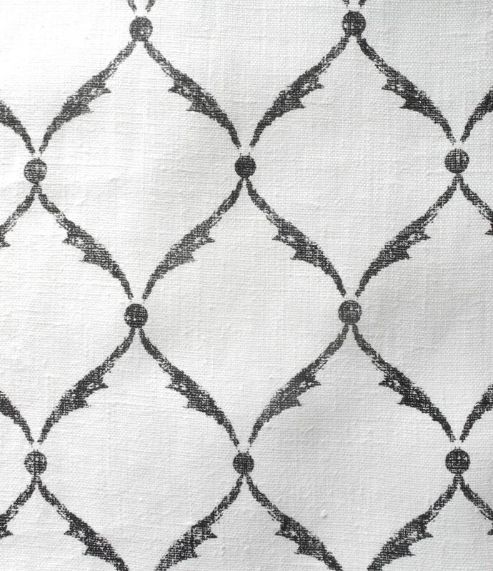 Michael Devine printed fabricsPowder Room, 2013, Michael Devin, Devin Prints, Combray