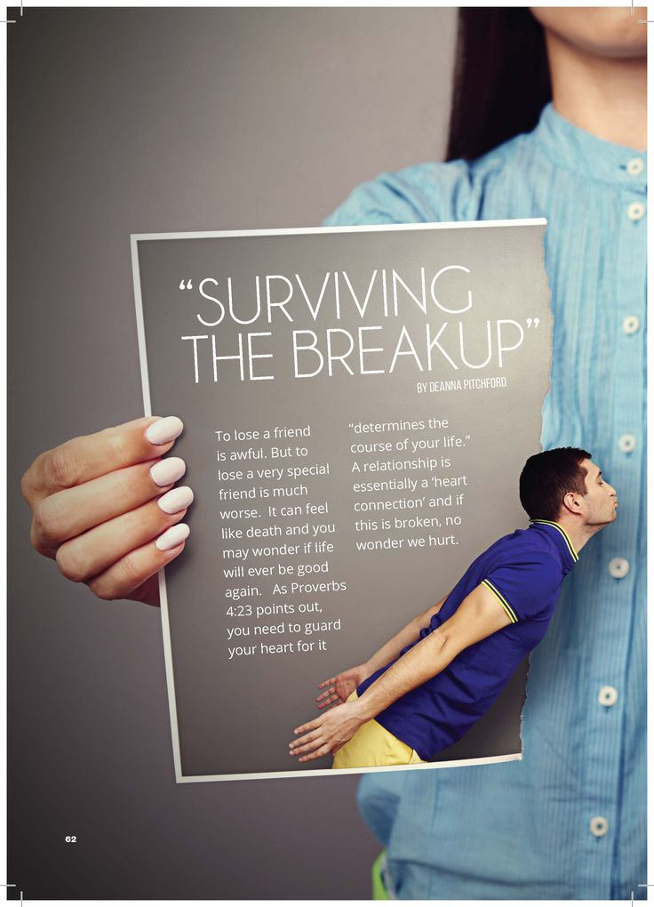 how do you survive a break up? Find out in this article