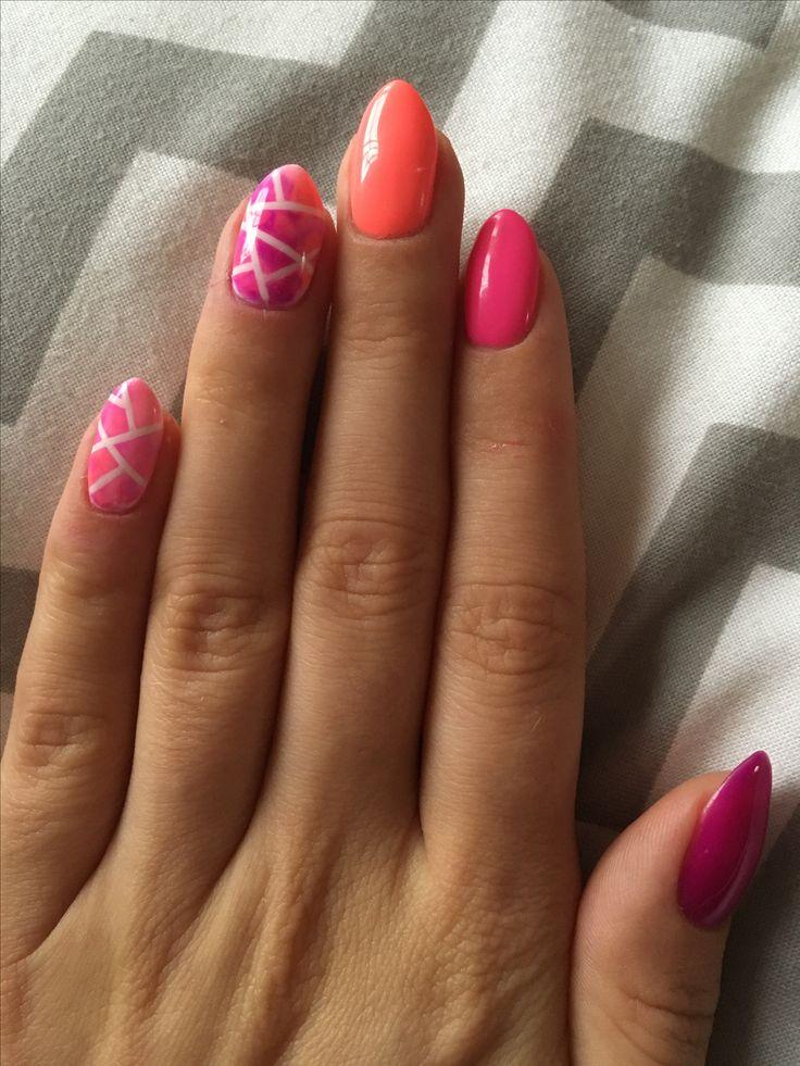 Semilac 033 032 008 #NailsByDyta #semilac #mardigras #pinkdoll #intensivepink