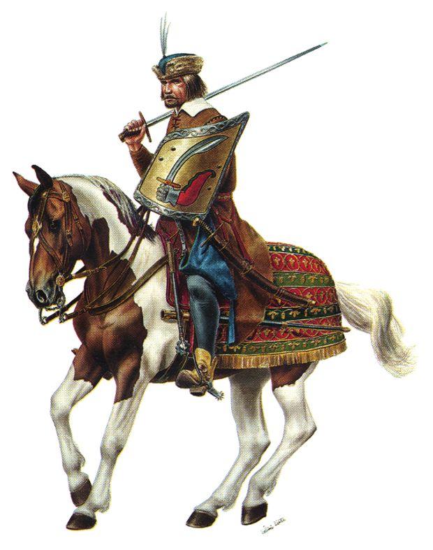 Croatian light hussar, Battle of Sisak (1593)
