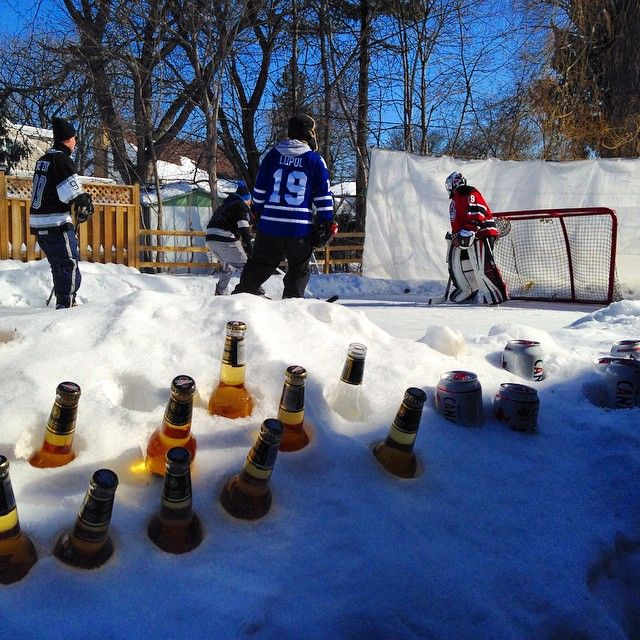 13 Backyard Rinks That Will Give You The Chills
