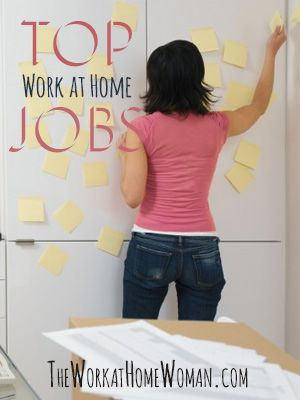 Even though the Internet has made it possible for more and more people to do their jobs from home, not all jobs translate well to this arrangement. So what are some of the top work at home jobs? Take a look here at the different career paths for working at home and the top jobs in each category.