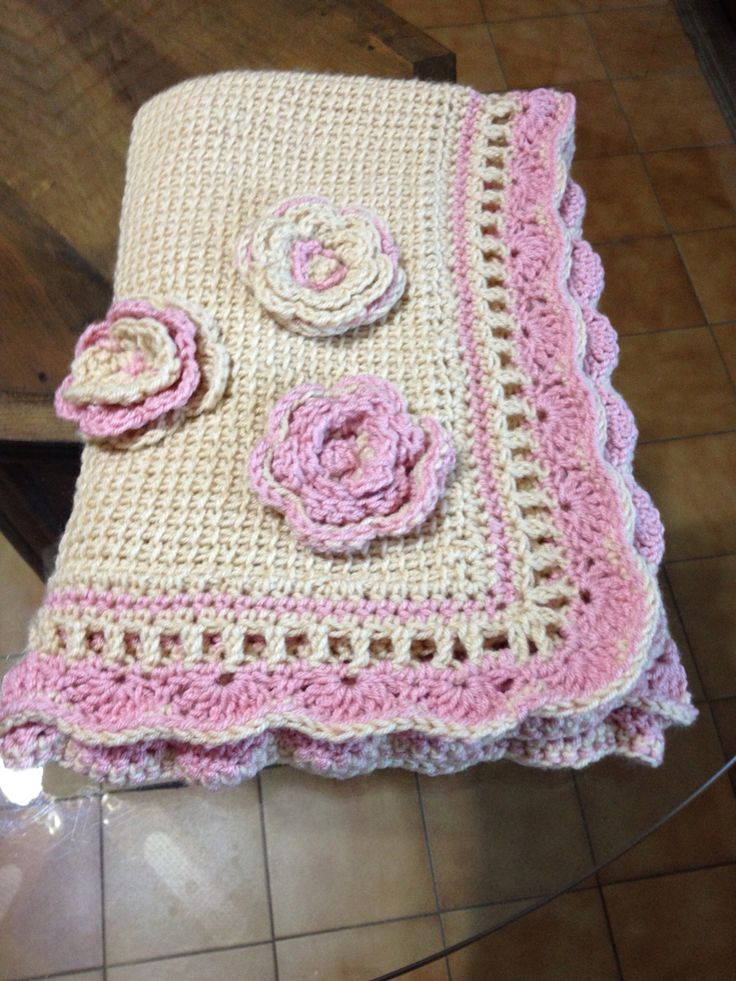 Cobija Marian crochet