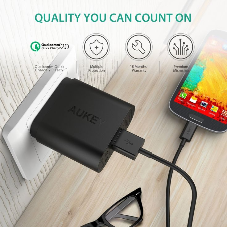Get your smartphone powered up to 75% quicker with this $7 charger