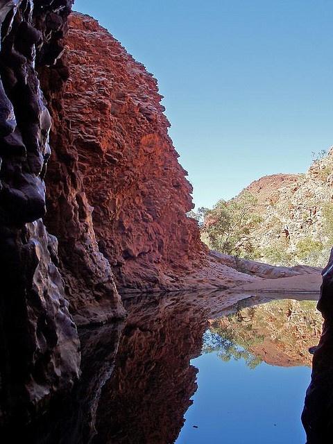 Redbank Gorge, West MacDonnell Ranges, Australia