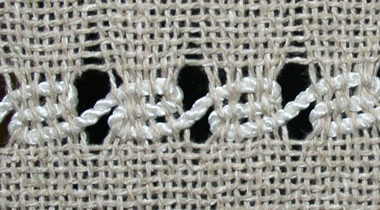 this is Spanish lace the website shows how to do the weaver manipulated lace weaves