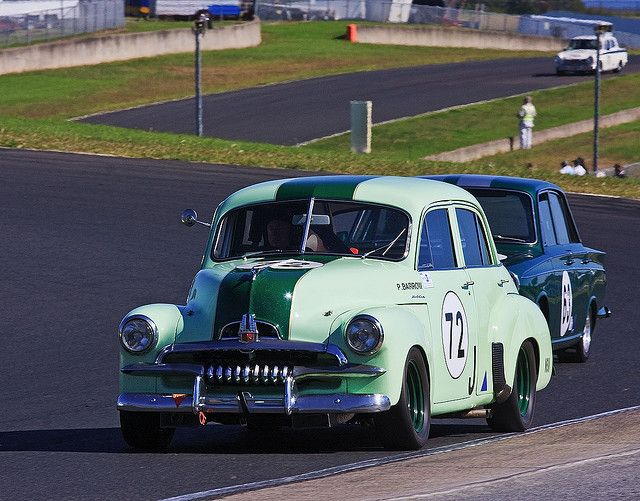 Historic Racing, Eastern Creek, Australia 2&3 May 2009 #72 Philip Barrow 1955 Holden FJ