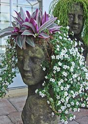 Cool planter head!