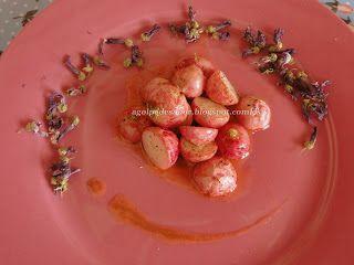 Rábanos asados con mantequilla de anchoas