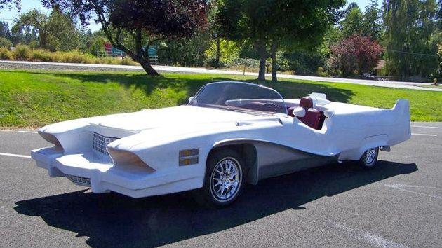 Baroque custom '74 Cadillac