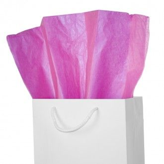 Cerise Pink Tissue Paper #Giftwrap #Packaging #PrettyPackaging