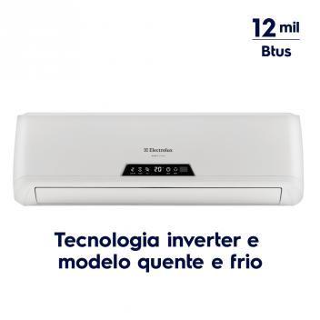 Ar Condicionado Split Inverter 12.000 Btus Quente/Frio (BI12R/BE12R) - Electrolux