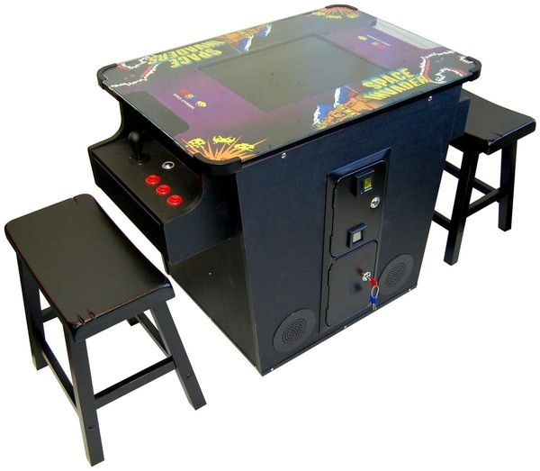 Bring the 80's Classics home with this brand new Commercial Grade 412 Games in 1 Cocktail Game Table. This is constructed with the highest quality materials,...