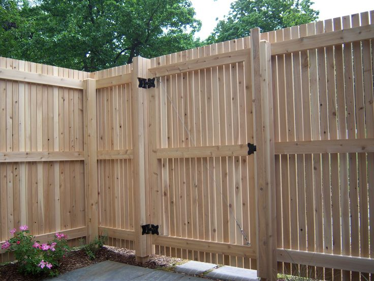 How To Build A Wood Fence Gate Part 59