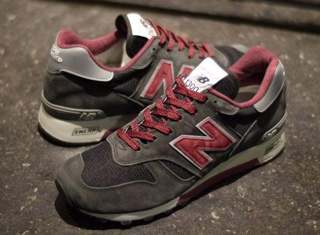 6af54c3d303e new balance 1300 salmon sole purple mita sneakers x OSHMAN S x New Balance  ...