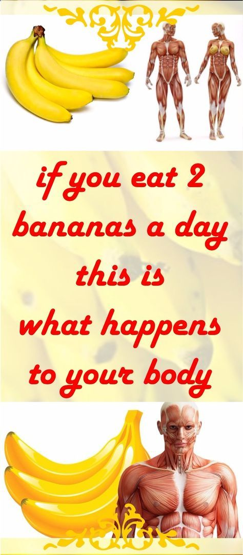 Ever Wonder what will happen to your body If You Eat 2 Bananas A DAY?? Don't wonder any more check this great Pin Article – Read It !