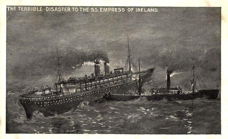 Accident de l'Impress of Ireland