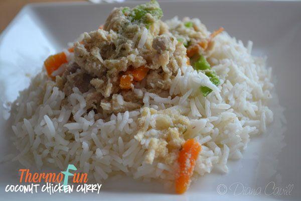 ThermoFun – Coconut Chicken Curry Recipe