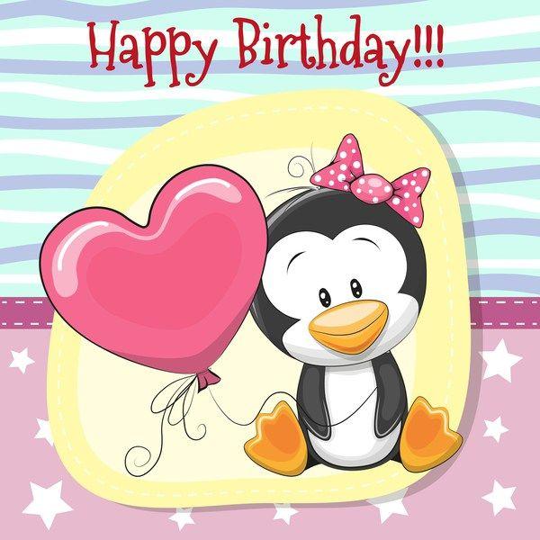 Sweet Words They D Like To Hear Happy Birthday Baby Happy Birthday Baby Cute Birthday Wishes Happy Birthday Penguin