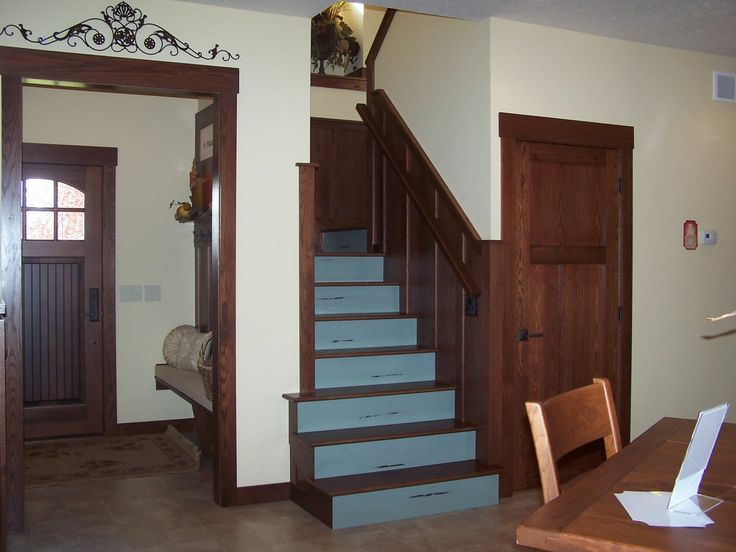 17 best images about staircases on pinterest pewter for Arts and crafts wainscoting