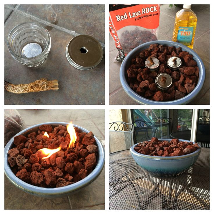 Citronella Tabletop Fire Pit!!!                                                                                                                                                                                 More