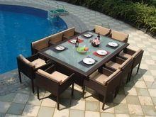 Móveis de vime vime / móveis / Wilson e Fisher mobília do pátio ao ar livre