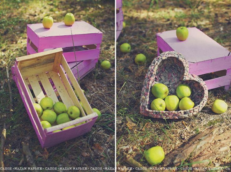 Какая же яблочная свадьба без соответствующего фрукта?