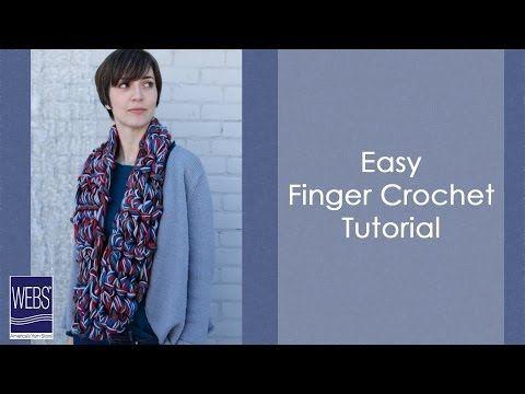How to Finger Crochet - YouTube